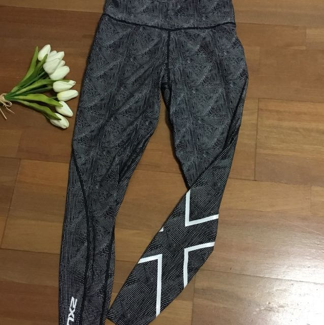 2XU full length compression tights size XS