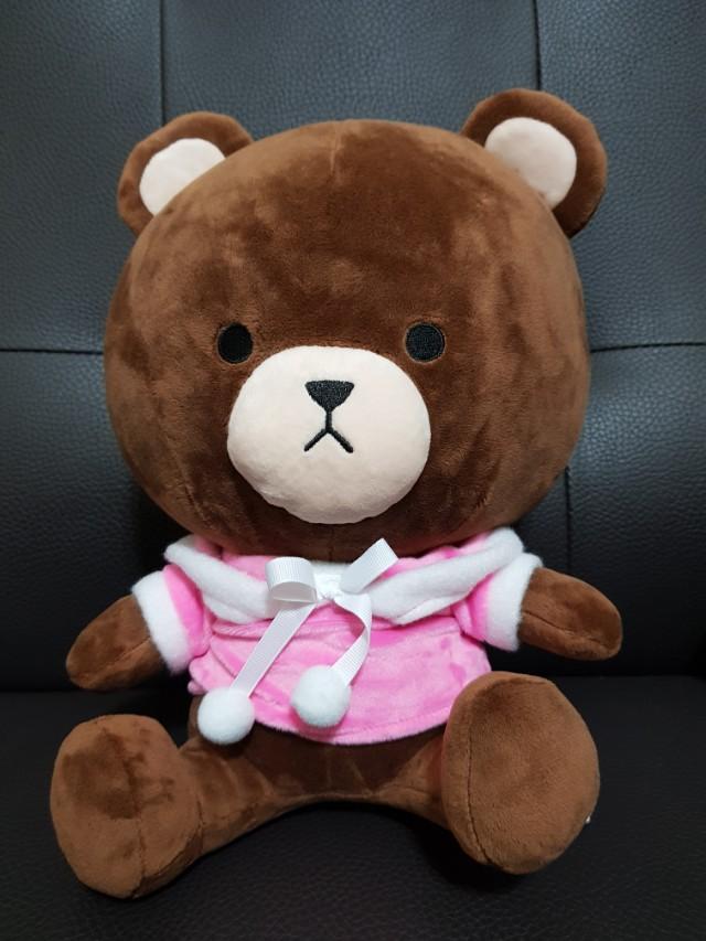 💥娃娃機-戰利品💥約30cm聖誕裝 熊大娃娃