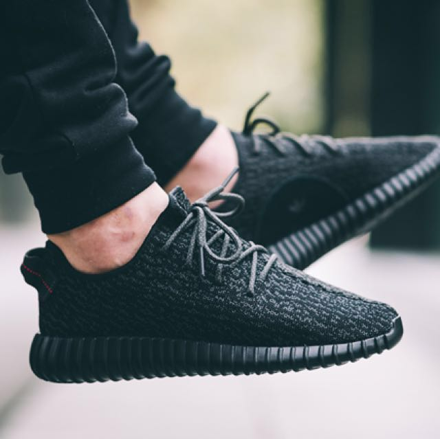 700  Adidas Yeezy boost 350 v1 pirate black d77c35ea1