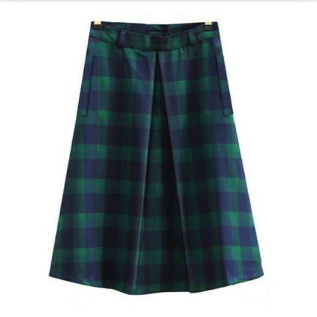 復古蘇格蘭裙