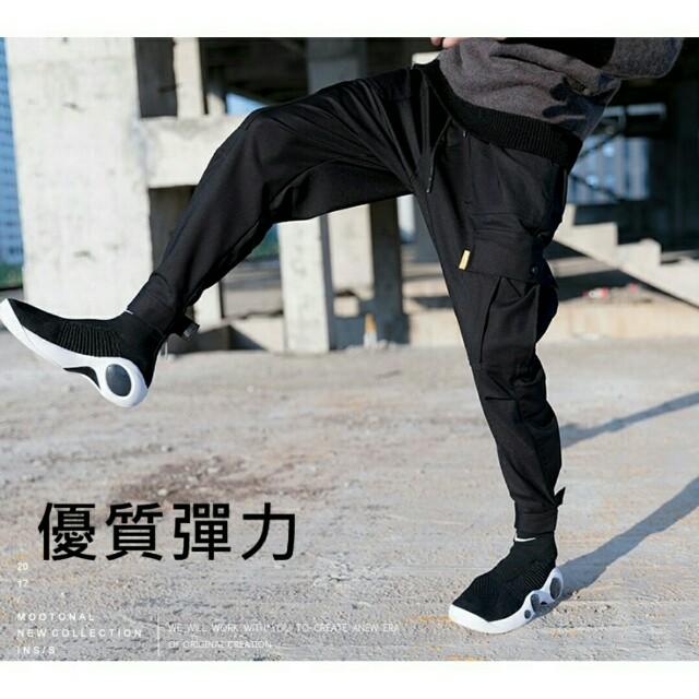 熱銷款~全新優質彈力多口袋褲