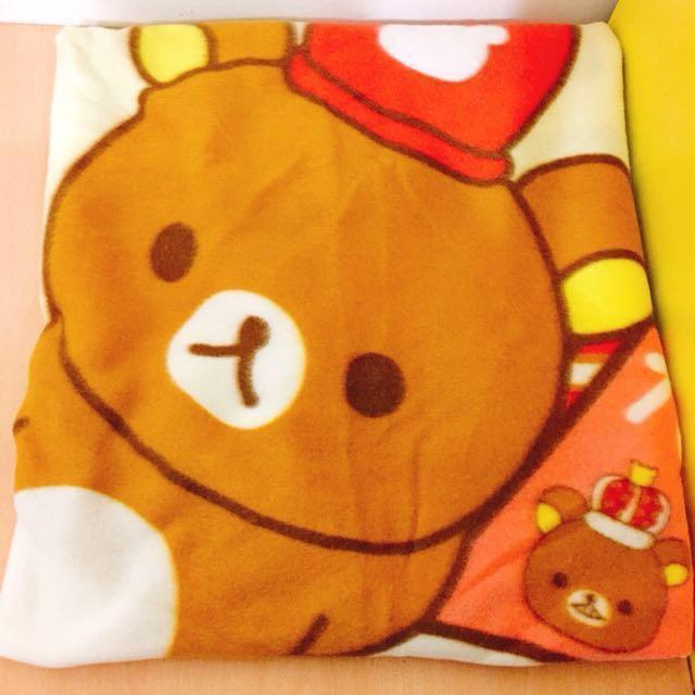 拉拉熊毯子 #有超取最好買 #寶貝過新年