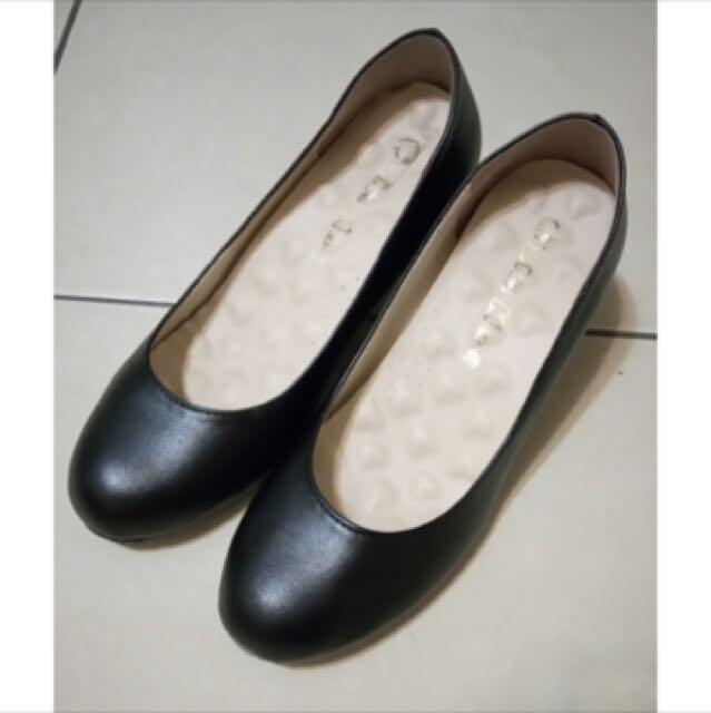 黑色 高跟鞋 面試鞋 包鞋 空姐