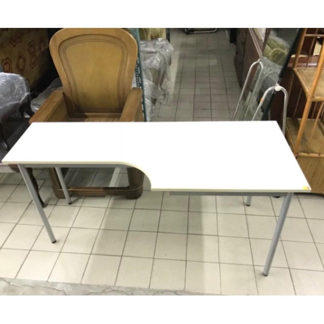 簡約白色書桌/電腦桌/書桌/辦公桌/學生書桌/主管桌/寫字檯/實木書桌 A1225