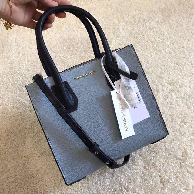 72db2839110e 💯 Authentic Michael Kors MK Mercer ( Small ), Luxury, Bags ...