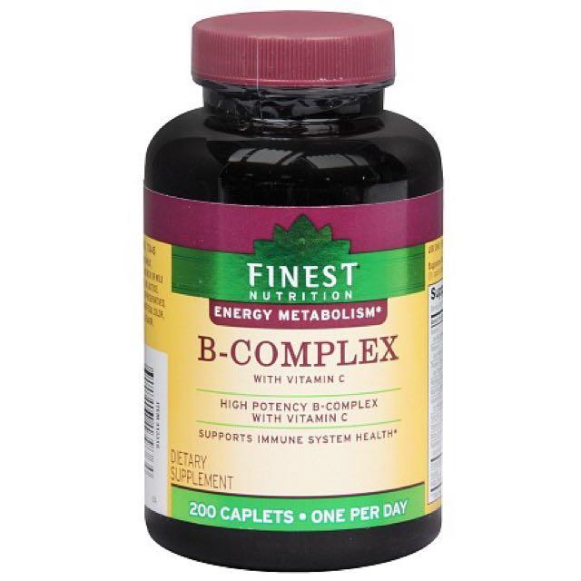 現貨💕 Finest Nutrition B-Complex with Vitamin C 綜合維他命B+C