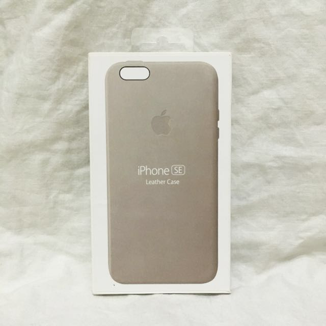 🆕 iPhone SE / 5S / 5 Leather Phone Case Beige Light Brown