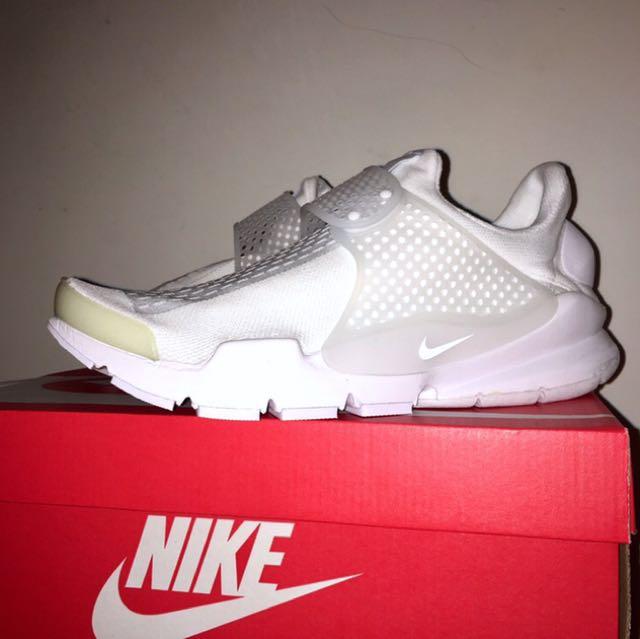 新品降價!全新 Nike Sock Dart Kjcrd White 正品 公司貨 全白