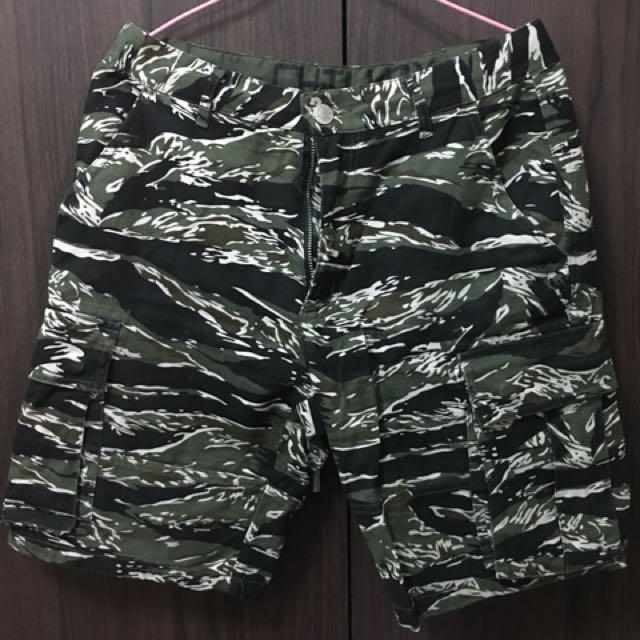 迷彩短褲 s