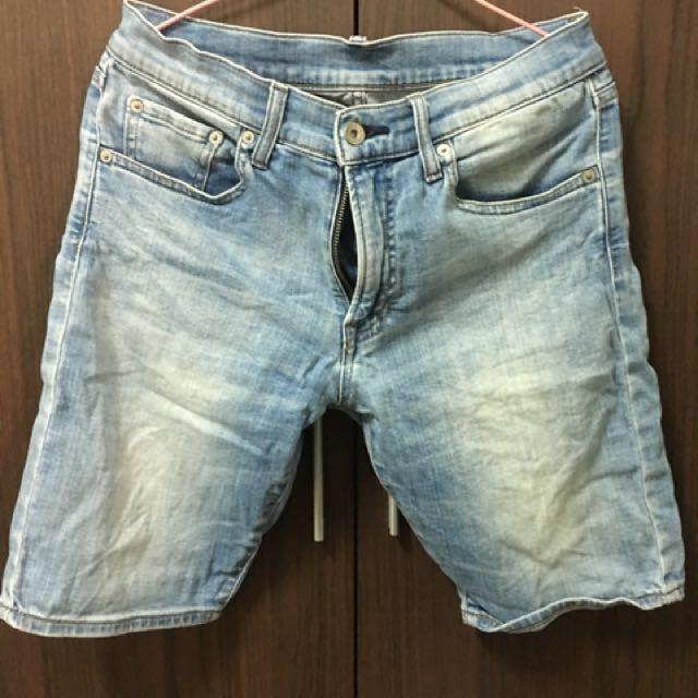 牛仔短褲 s 30腰