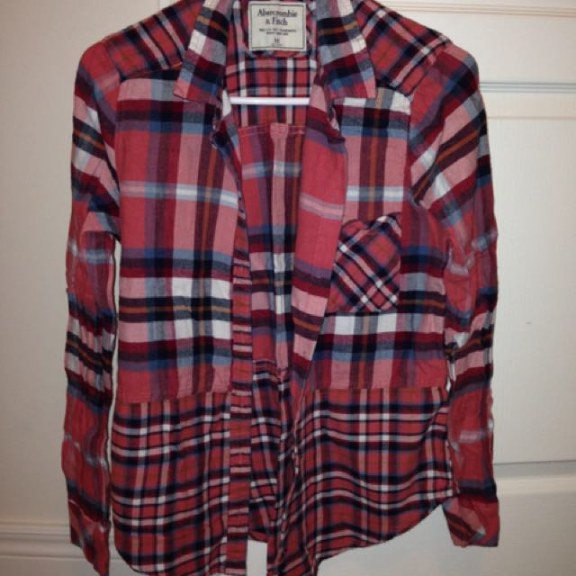 abercrombie and gap plaid shirts