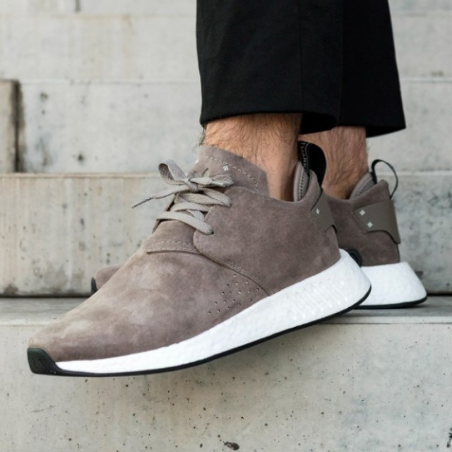 a353ce0ab32c Adidas NMD C2   Suede Pack   Simple Brown