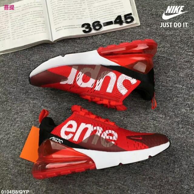 ab563e99a79 Nike Air Max270 Supreme
