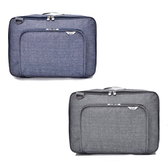998dbda6bd Alonso Large Travel Bag Waterproof Storage Bag Weekend Bag (Blue ...