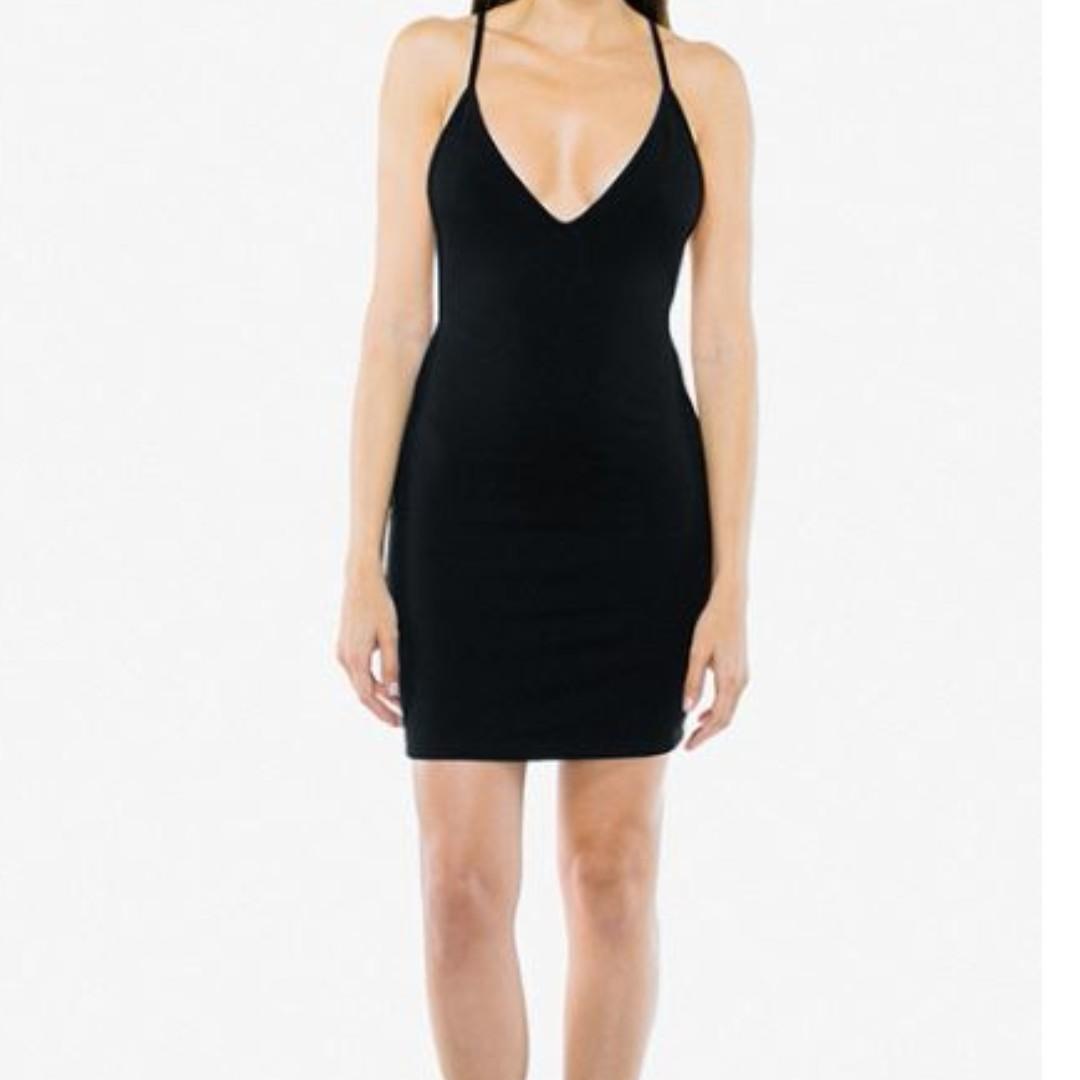 American Apparel Bixel Dress (Velvet)