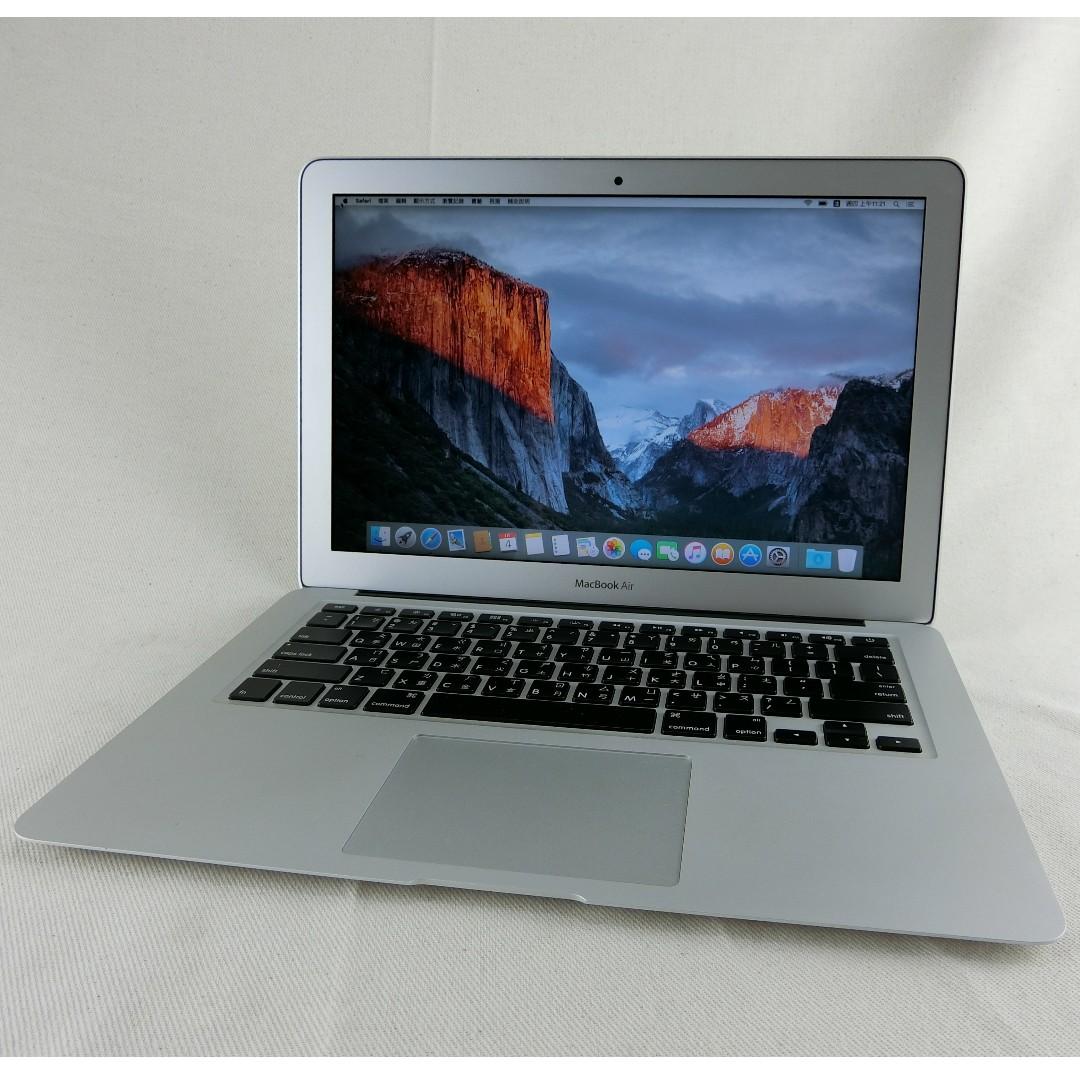 APPLE MacBook Air 13英寸 2015年初│i5-1.6、4G、128SSD、電池循環35次