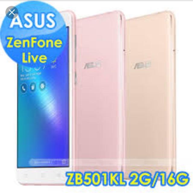 "ASUS Zenfone live 5"" (ZB501KL)"