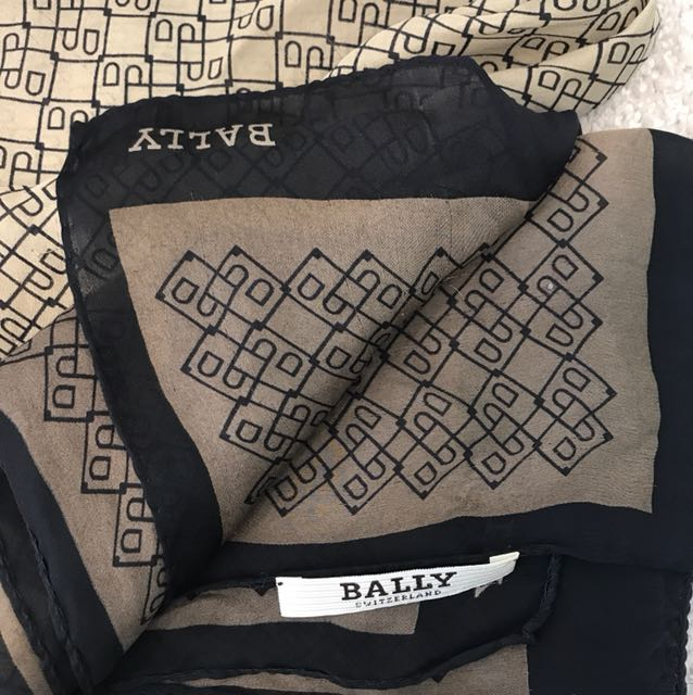 Authentic Bally Scarf
