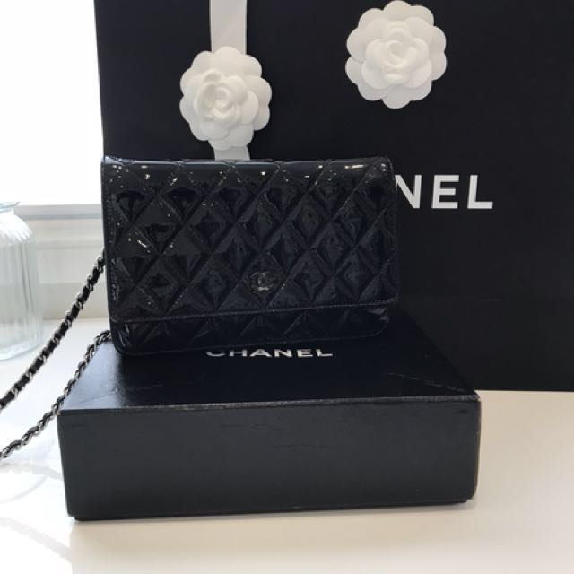 Authentic Chanel Wallet On Chain WOC Flap
