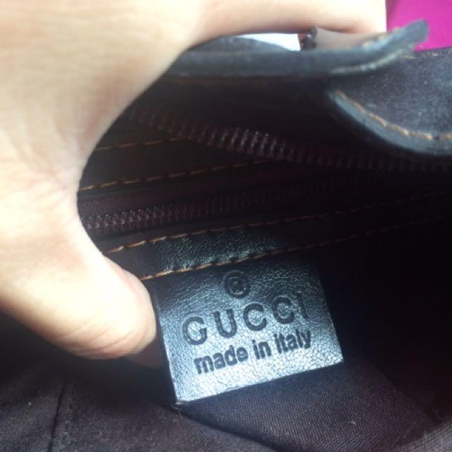 Authentic Gucci Handbag