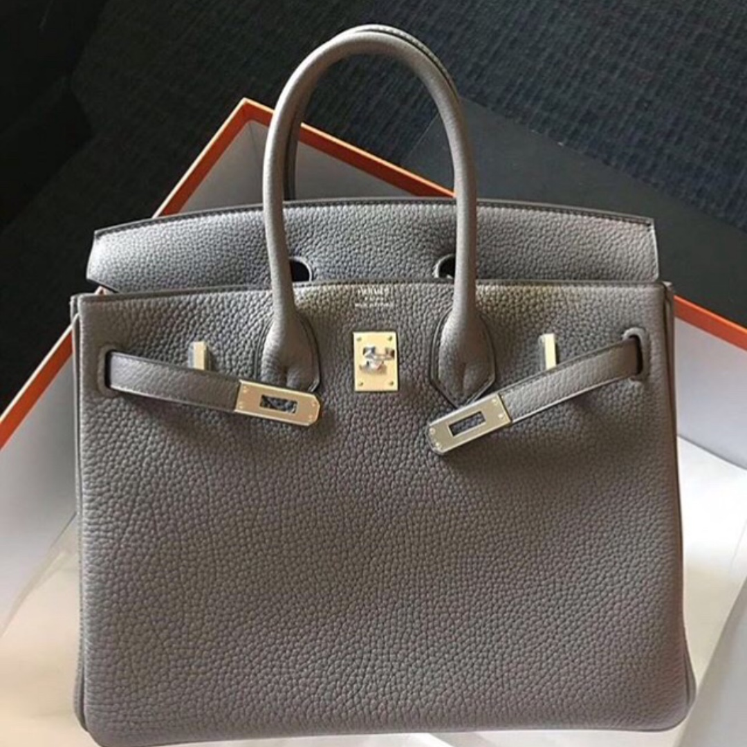 ffa9d601b3f0 ... top quality authentic hermes birkin 25 etain togo phw stamp a luxury  bags wallets on carousell
