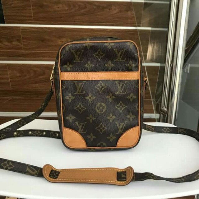 0e2ae5b0b837 Authentic Louis vuitton danube sling bag for men and women