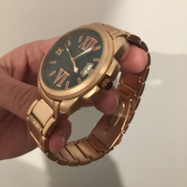Authentic men's lux watch