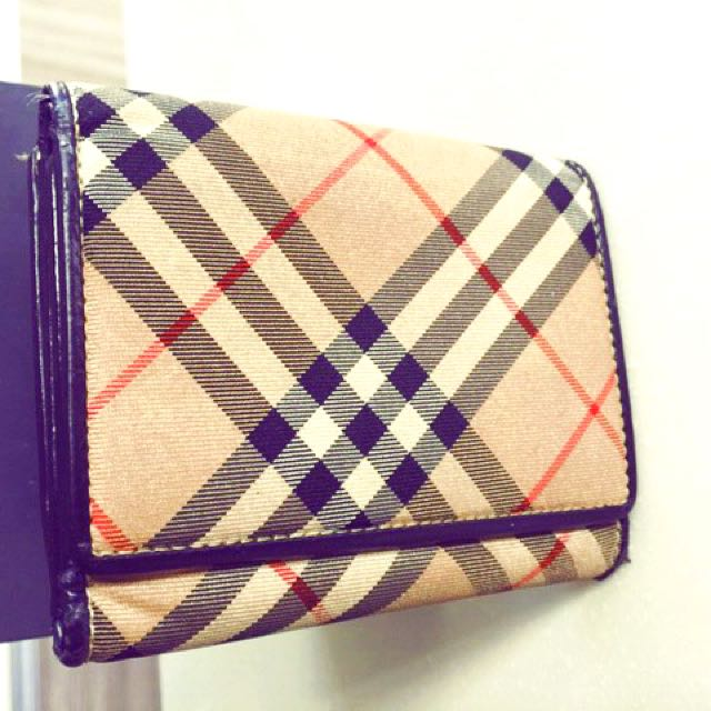 💯Authentic Tri-fold burberry wallet