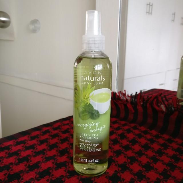 Avon US Green Tea & Verbena Body Spray