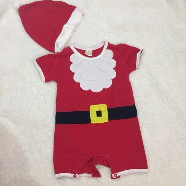 Baby Santa Costume with Santa Hat