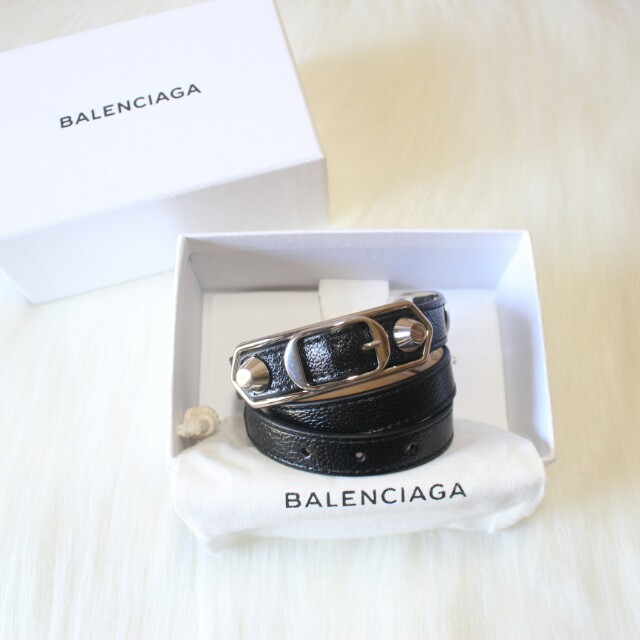 Balenciaga metallic edges 3 tour black shw