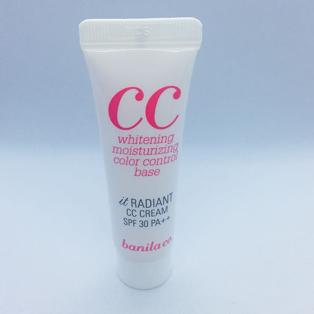 BANILA CO it Radiant CC Cream 10mL