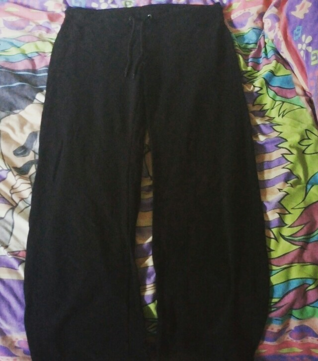 Black Trackies (Size 14) NEW