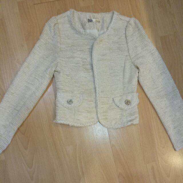 blazer korea white