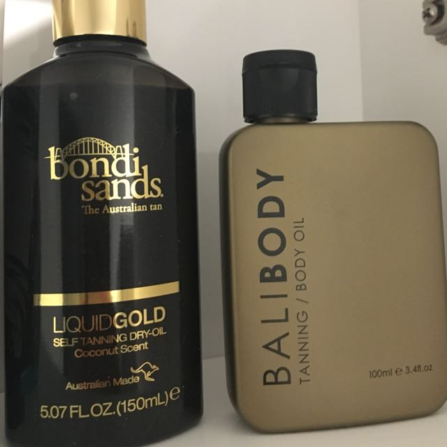 Bondi and Bali body tanning kit