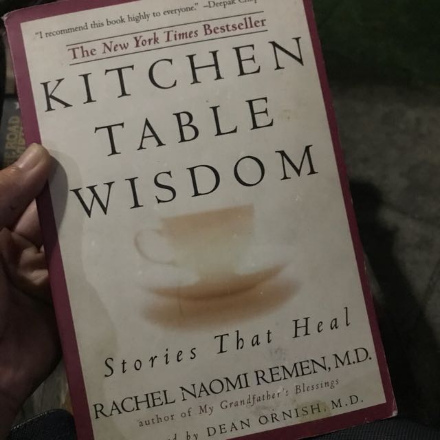 Book kitchen table wisdom stories that heal by rachel naomi remen book kitchen table wisdom stories that heal by rachel naomi remen md books books on carousell watchthetrailerfo