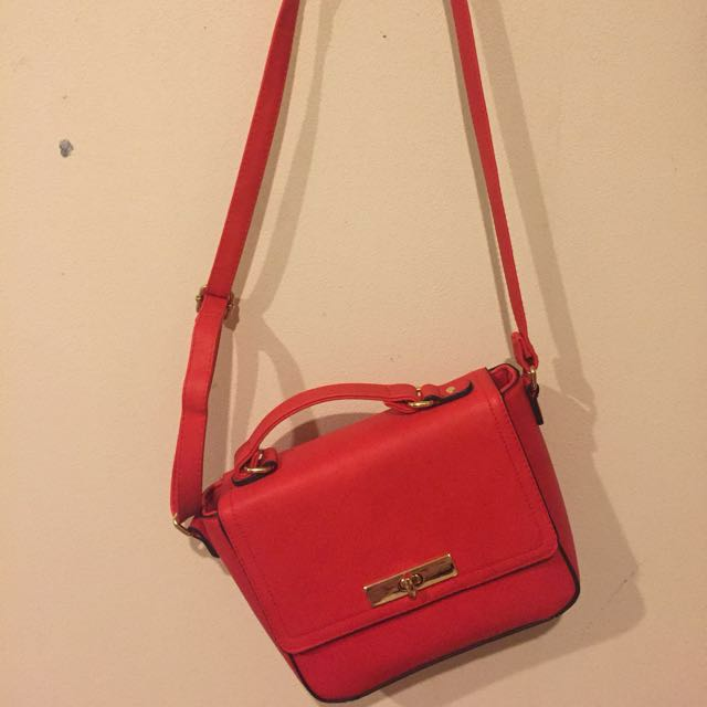 Brand New Free Shipping Red Handbag