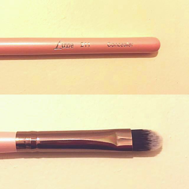 Brand New LUXIE Rose Gold Concealer Brush