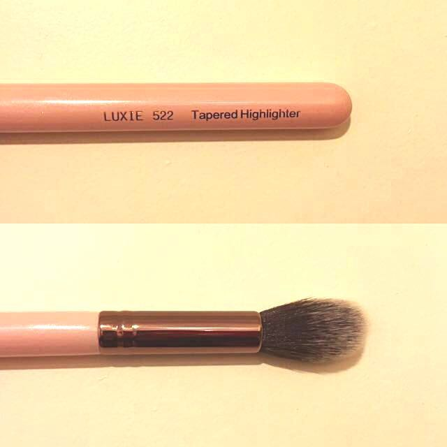 Brand New LUXIE Rose Gold Tapered Highlighter Brush