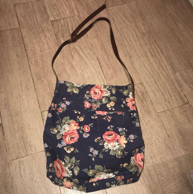 Cath Kidston Blue Sling Bag Large