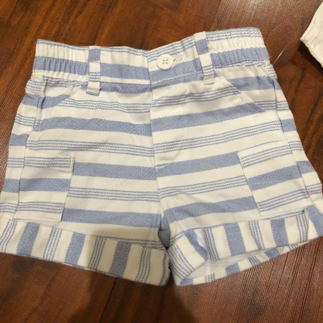 Celana pendek bayi (6-9 bln)