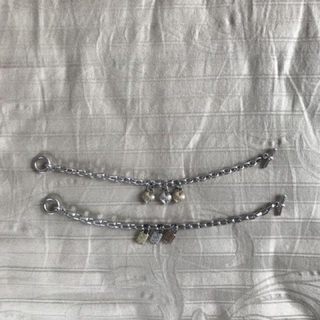 Chain Bracelets (Love & Lock)