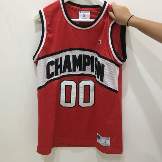 champion jersey authentic