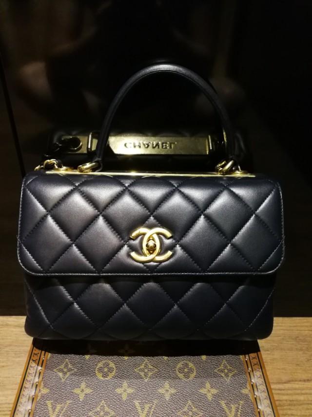 1ce7dad1db50 Chanel Top Handle Flap Bag