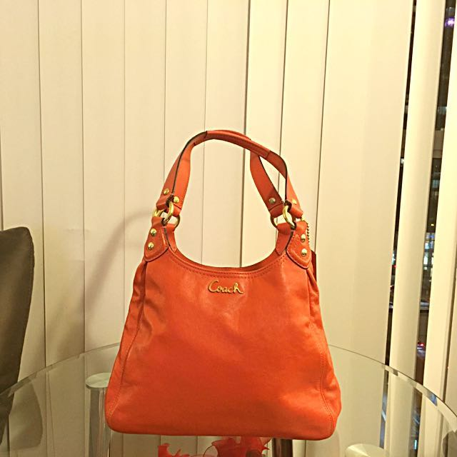 Coach Orange Purse