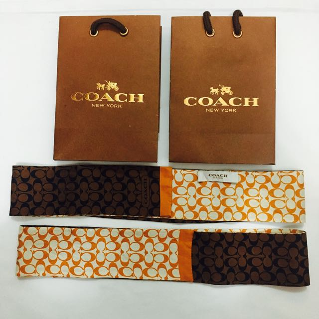 Coach Scarf/twilly