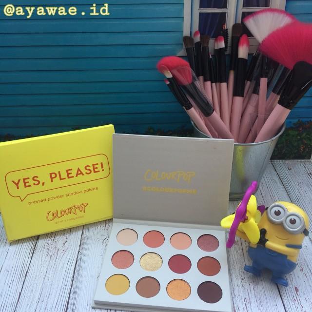 Colourpop eyeshadow Yes please ori