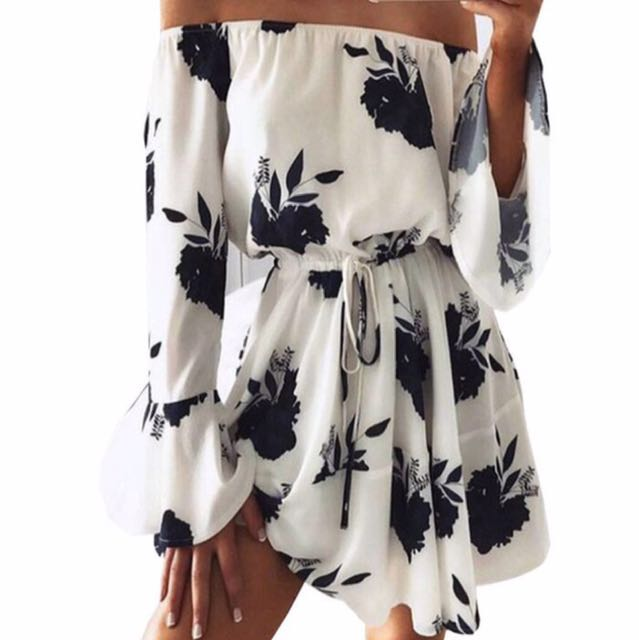 Cute Off-Shoulder Dress