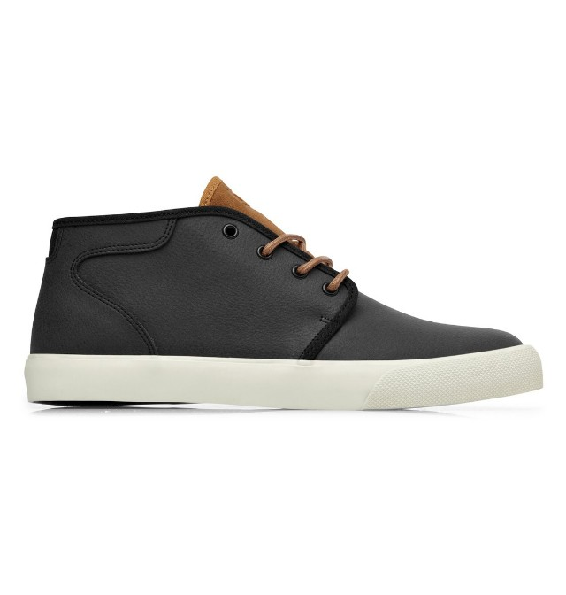 DC shoes mid cut - Leather upper rubber sole