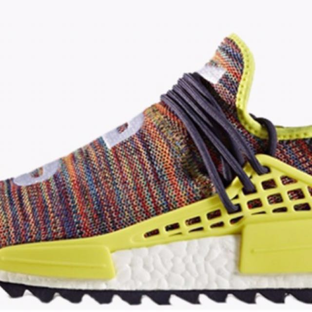 best sneakers 9e145 2e3d4 DEAL NOW Adidas Pharrell Williams Hu NMD MULTI